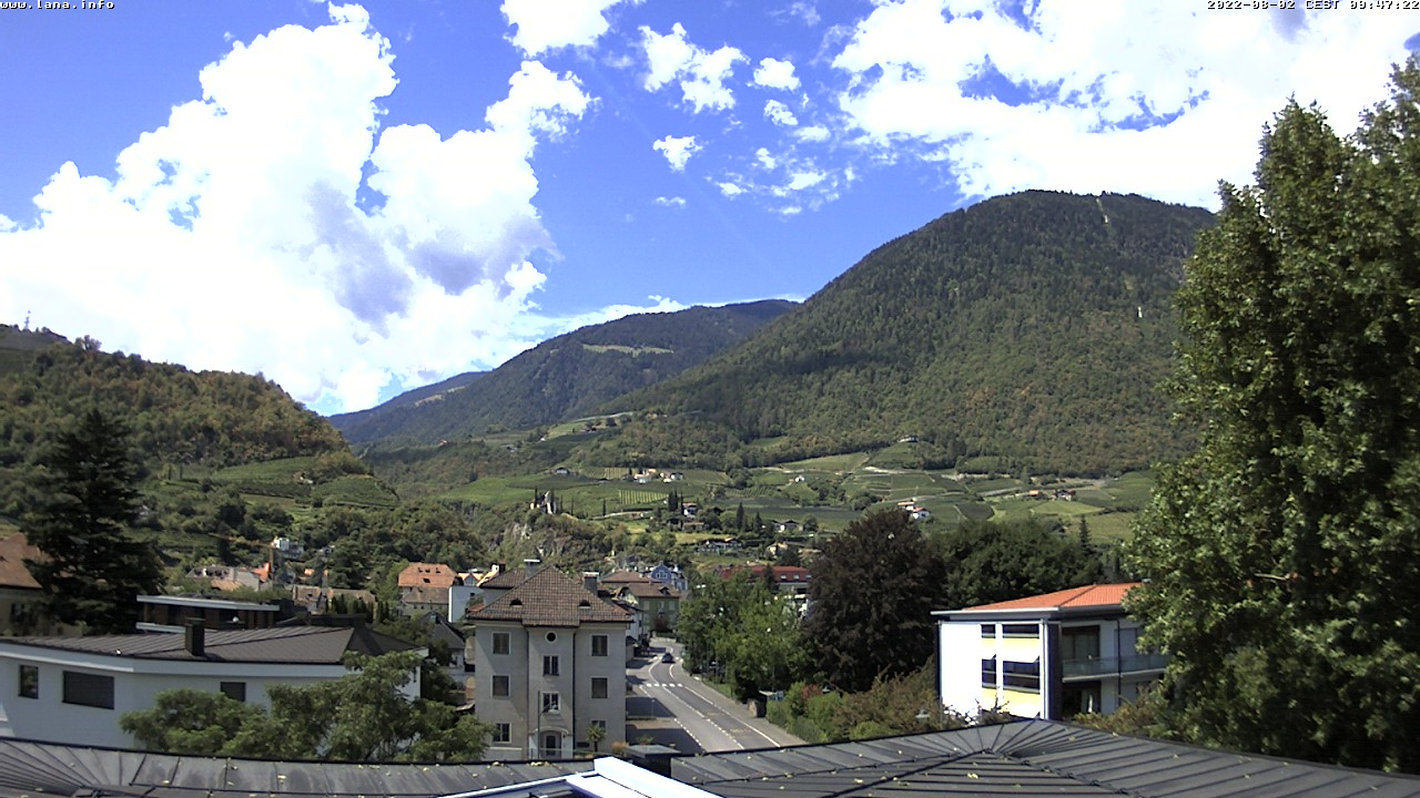 Webcam Lana, South Tyrol