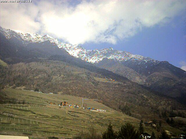 Webcam in Südtirol: Blick auf den Naturnser Sonnenberg